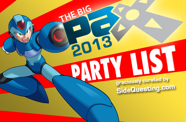 The Big PAX Prime 2013 Party List: Events, parties & more