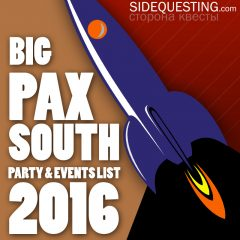 The BIG PAX South 2016 Party List