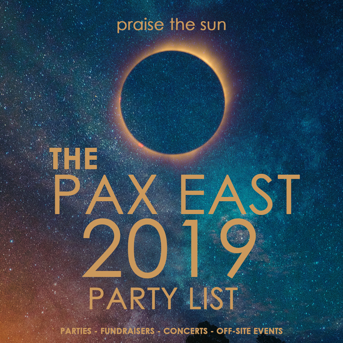 The BIG PAX East 2019 Party List | SideQuesting