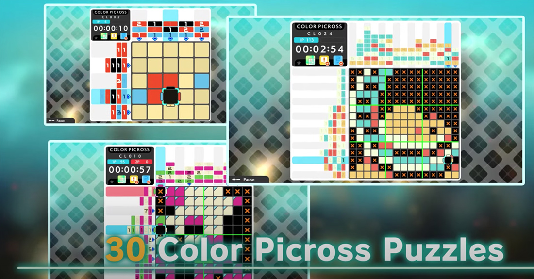 Picross S5 announced