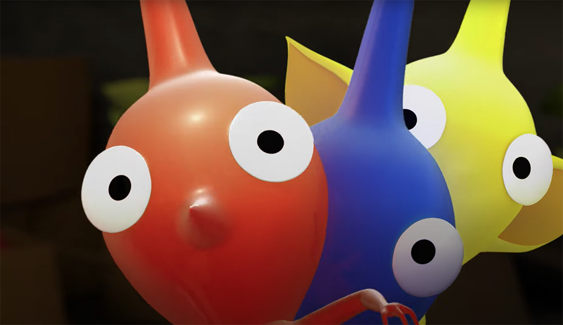 Saturday Morning Cartoons: Pikmin shorts