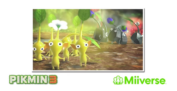 Share photos from Pikmin 3 to Miiverse