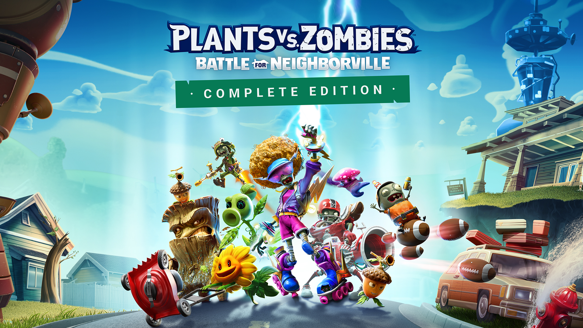 Plants vs Zombies: Battle for Neighborville finally comes to Switch