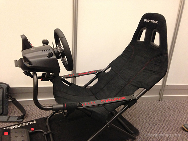 Playseat Challenge at E3 2013