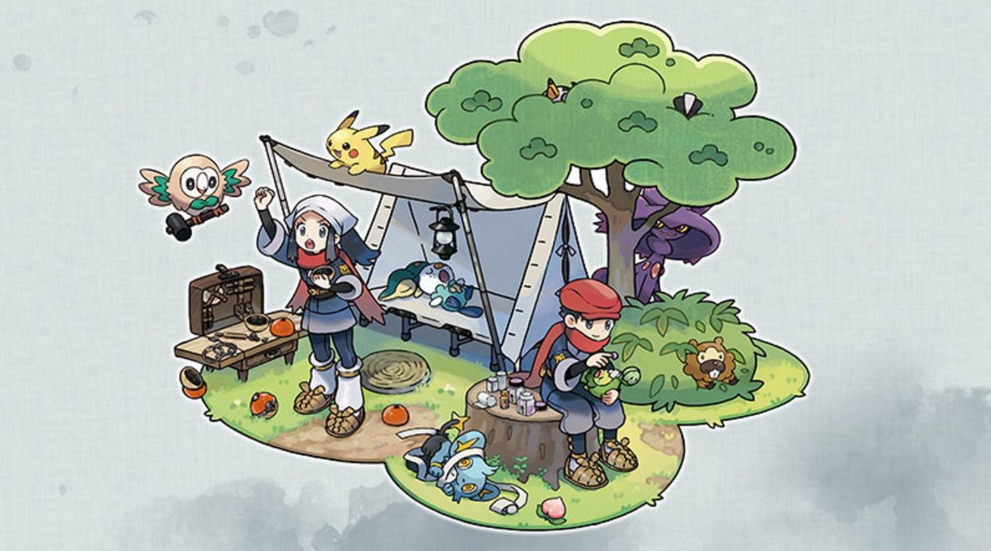 Pokémon Legends Arceus reveals new details