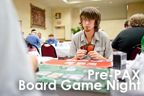 Pre PAX Board Game Night