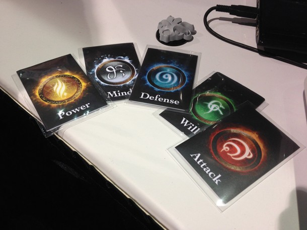 Several of the Arkana cards