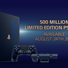 Sony releasing special edition PS4 Pro to celebrate 500 Million PlayStations