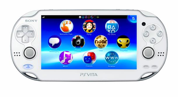 PS Vita White