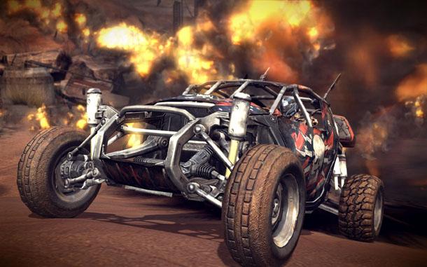 Rage vehicle