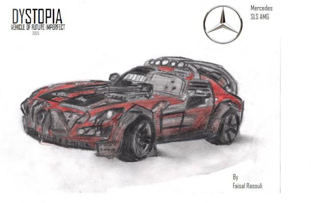 Faisal Rasouli's Mercedes SLS AMG