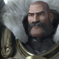 Reinhardt's past is revealed in latest Overwatch clip