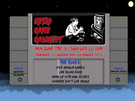 retro-game-gauntlet-e3-party