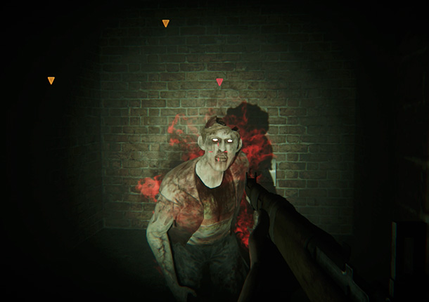 ZombiU Review Zombie on fire