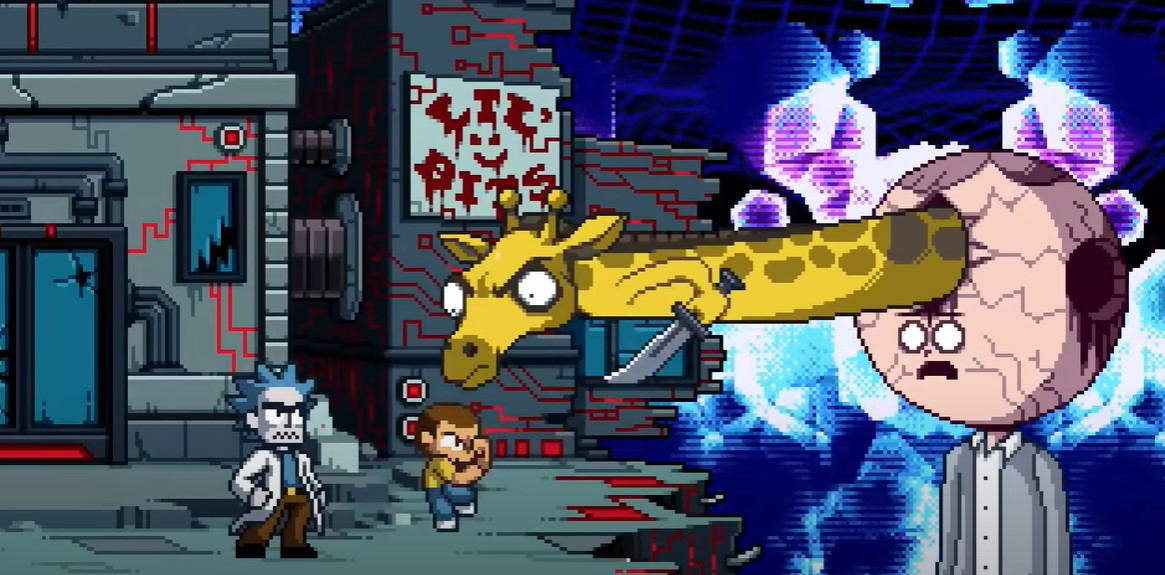 Adult Swim drops a retro game themed Rick and Morty episode