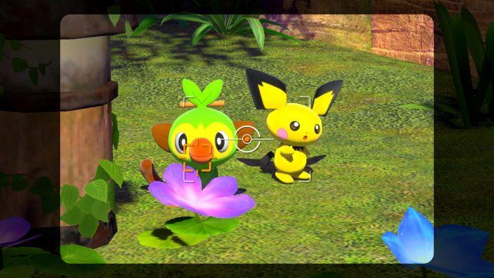 Pokemon Snap Pichu and Grookey