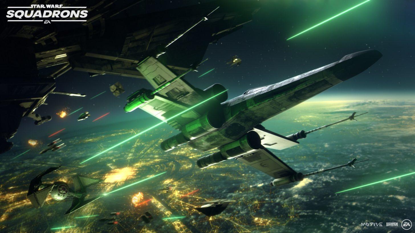 EA reveals Star Wars: Squadrons