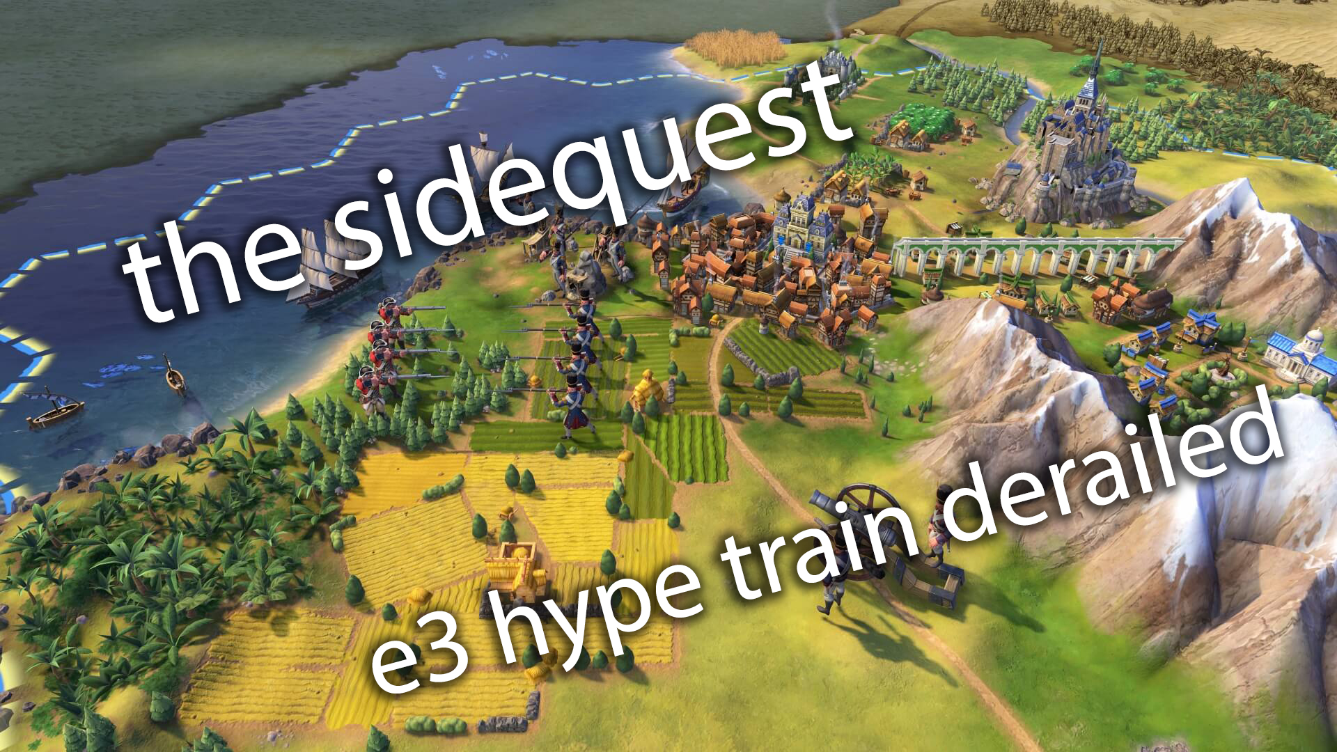 The SideQuest LIVE! May 22, 2020: The E3 Hype Train has been derailed