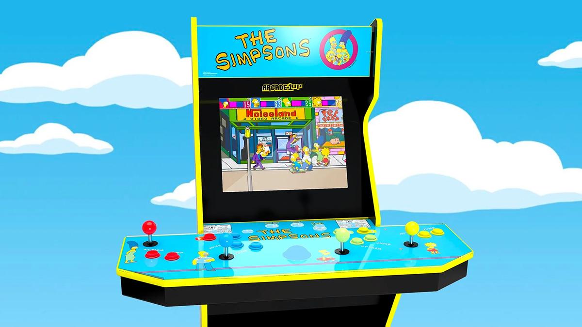 Arcade1Up reveals Simpsons arcade machine