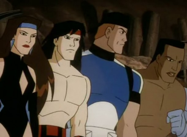 Image result for MORTAL KOMBAT: DEFENDERS OF THE REALM