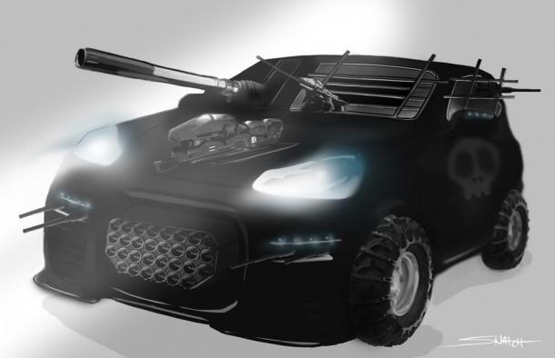 Nicolas Gomes' Porsche Cayenne