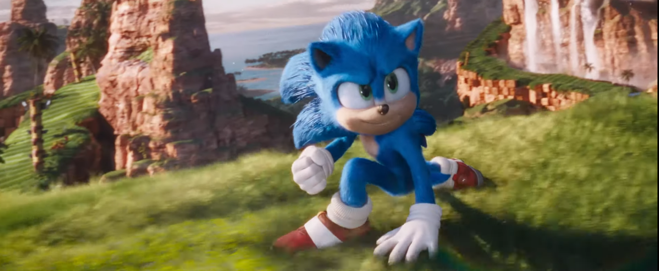 Sonic the Hedgehog 2 (the movie) is zooming into theaters in 2022