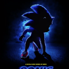 Sonic The Hedgehog looks strange in first movie poster