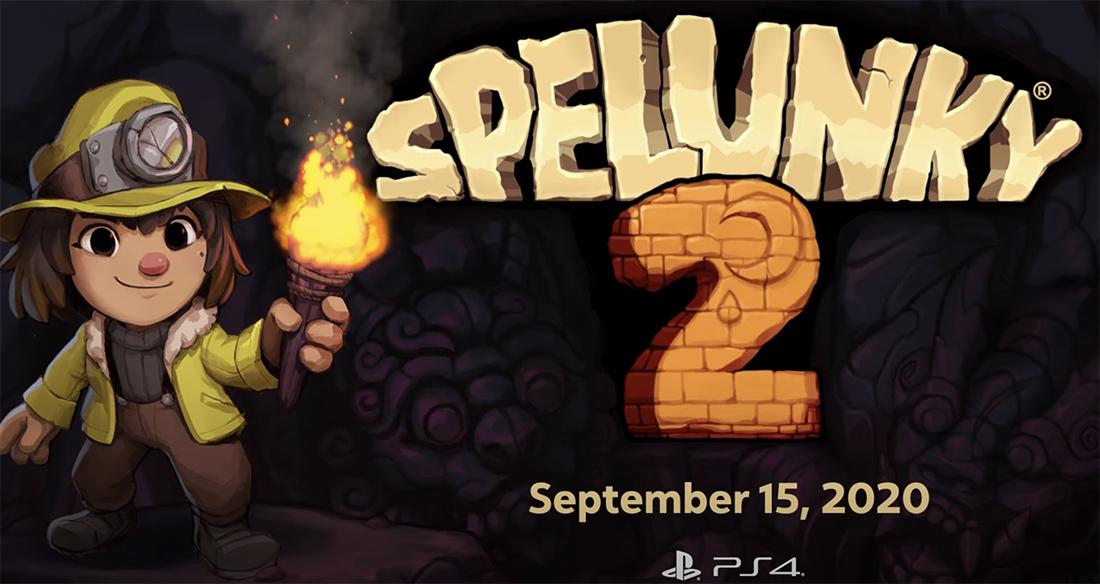 Spelunky 2 arrives September 15
