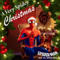 Into the Spider-Verse's Christmas Album is available to stream in real life