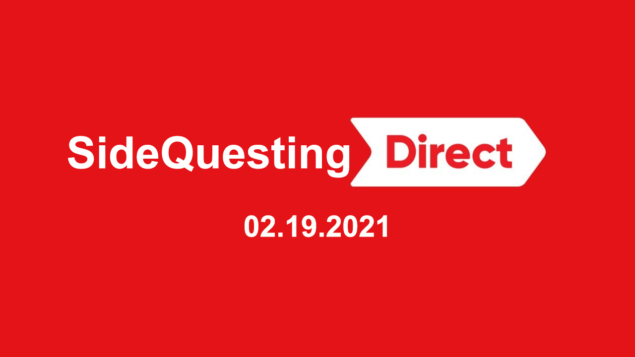 The SideQuest LIVE! February 19, 2021: BlizzConline and Nintendo Directs!