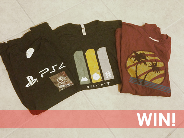 Giveaway: Destiny, Last of Us, PS4 swag! [Update: Winner!]