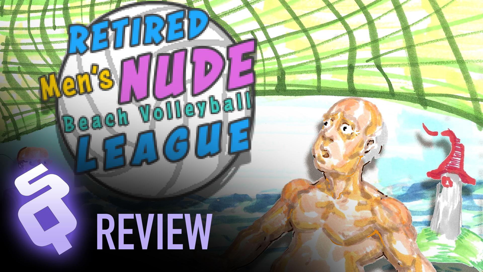 Review: Retired Men's Nude Beach Volleyball League