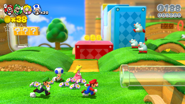 E3 2013: Hands-on with Super Mario 3D World and its cats