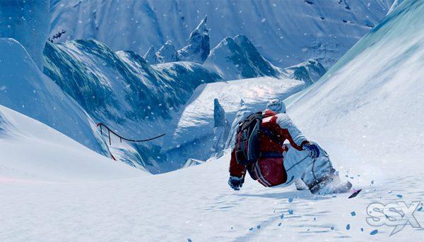 SSX Griff in Antarctica
