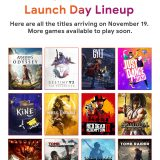 Google reveals its Stadia launch lineup just days before release