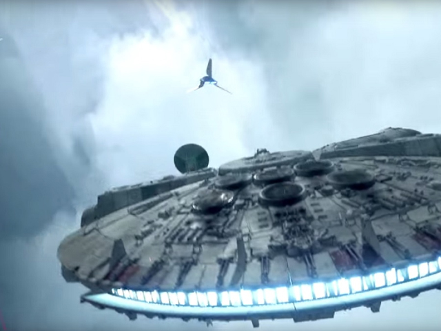 Gamescom: Millennium Falcon flies again in Star Wars Battlefront: Fighter Squadron Mode