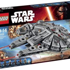 Possible box shots of Star Wars: The Force Awakens Lego sets appear