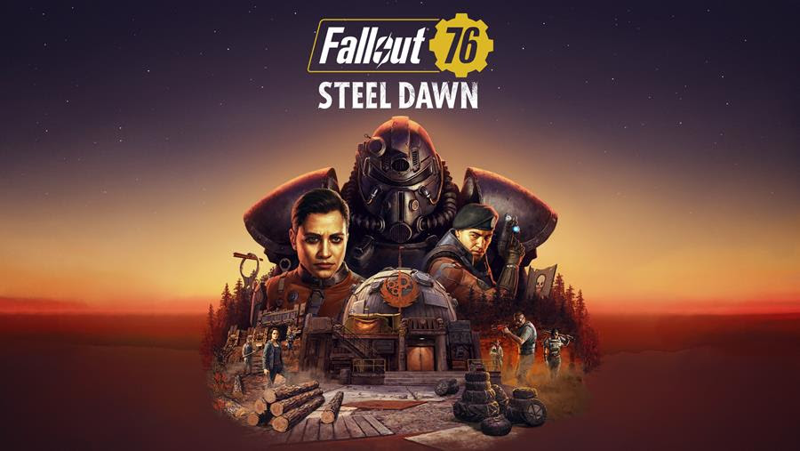 The Brotherhood of Steel arrive in Fallout 76