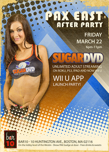 SugarDVD PAX East 2013 Party