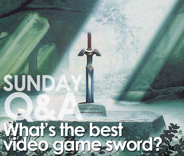 Sunday Q&A: What's the most iconic video game sword? [UPDATE: We have a winner!]