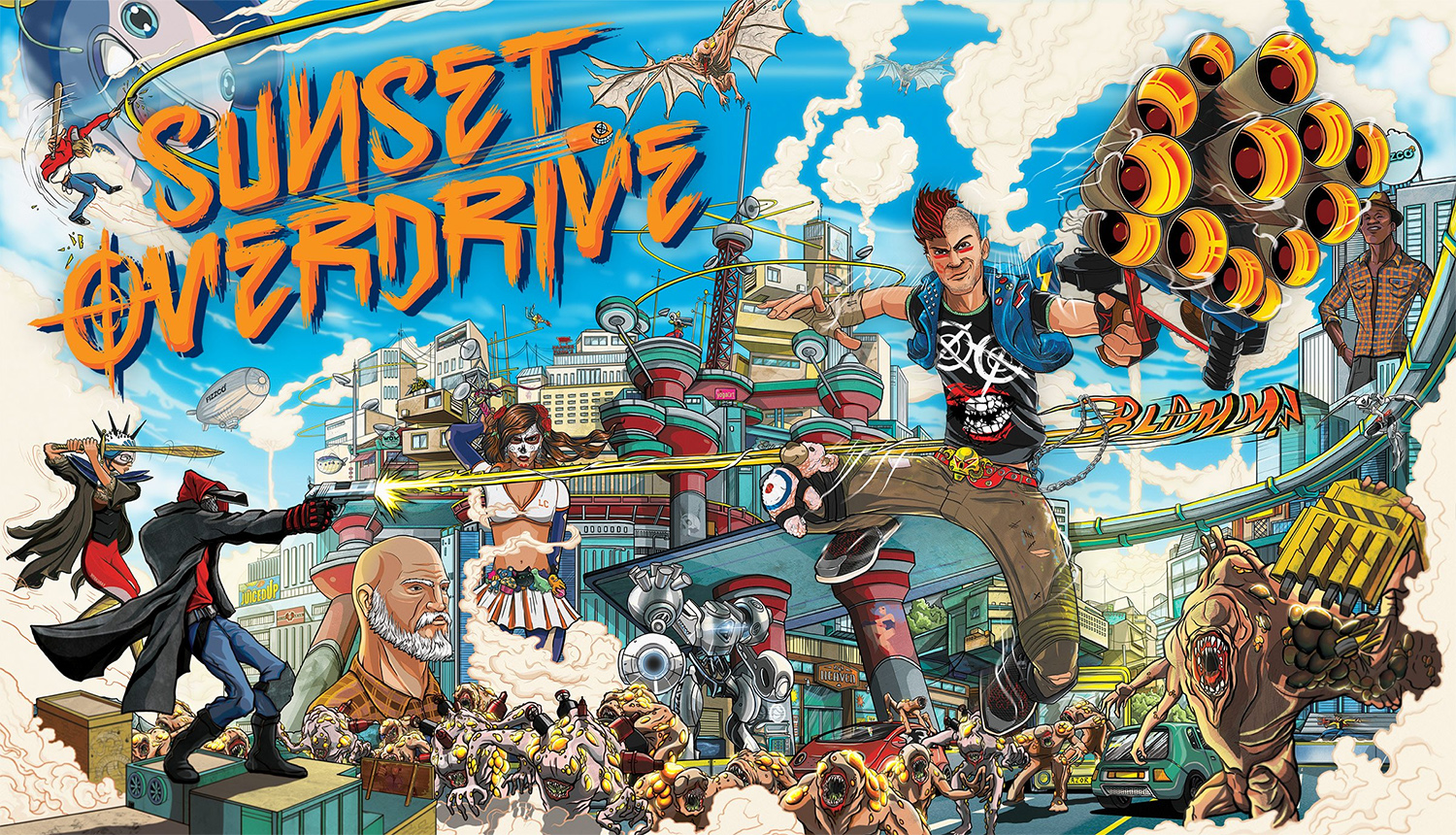 Sony trademarks Sunset Overdrive in the US