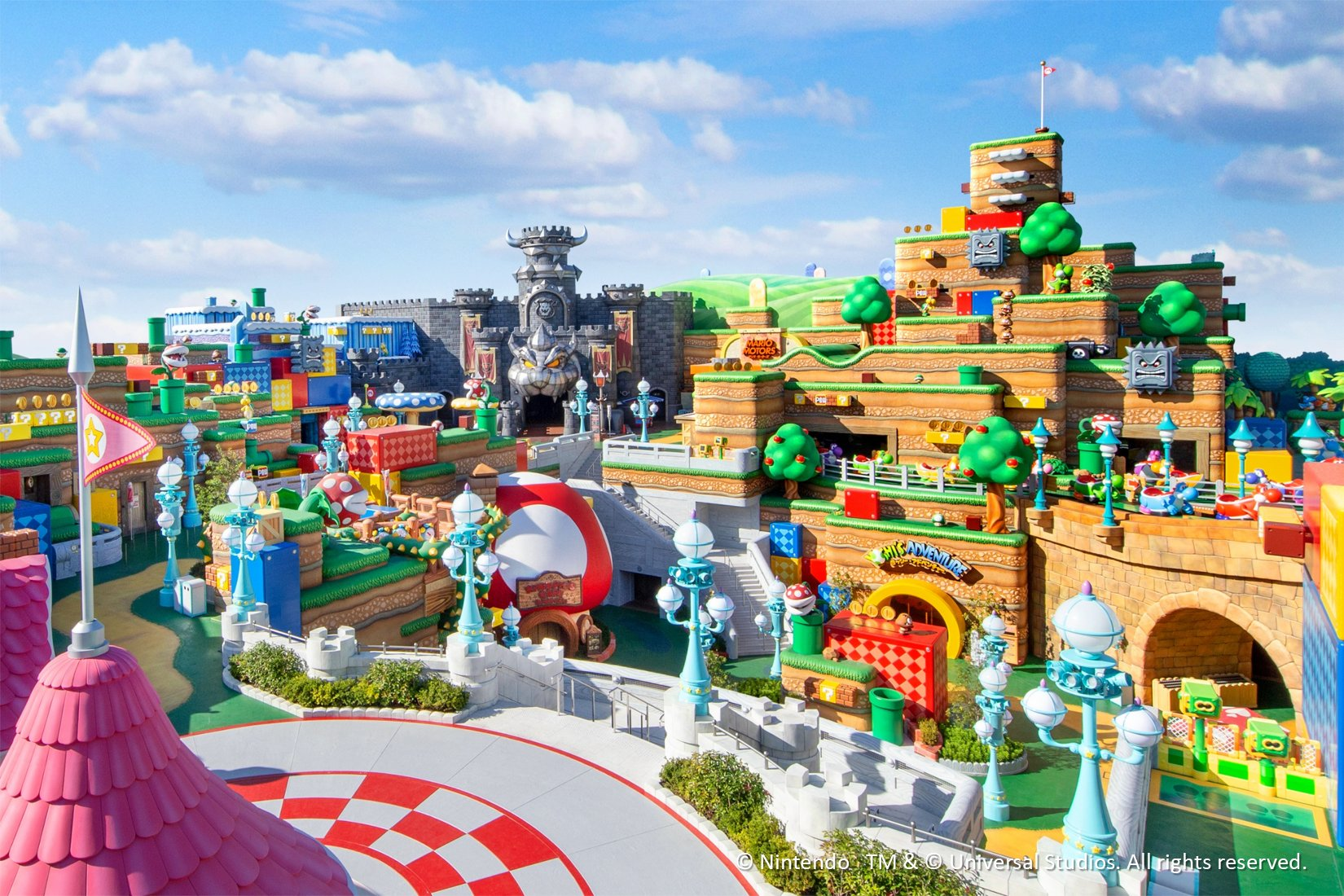 Super Nintendo World opens in Universal Japan in February