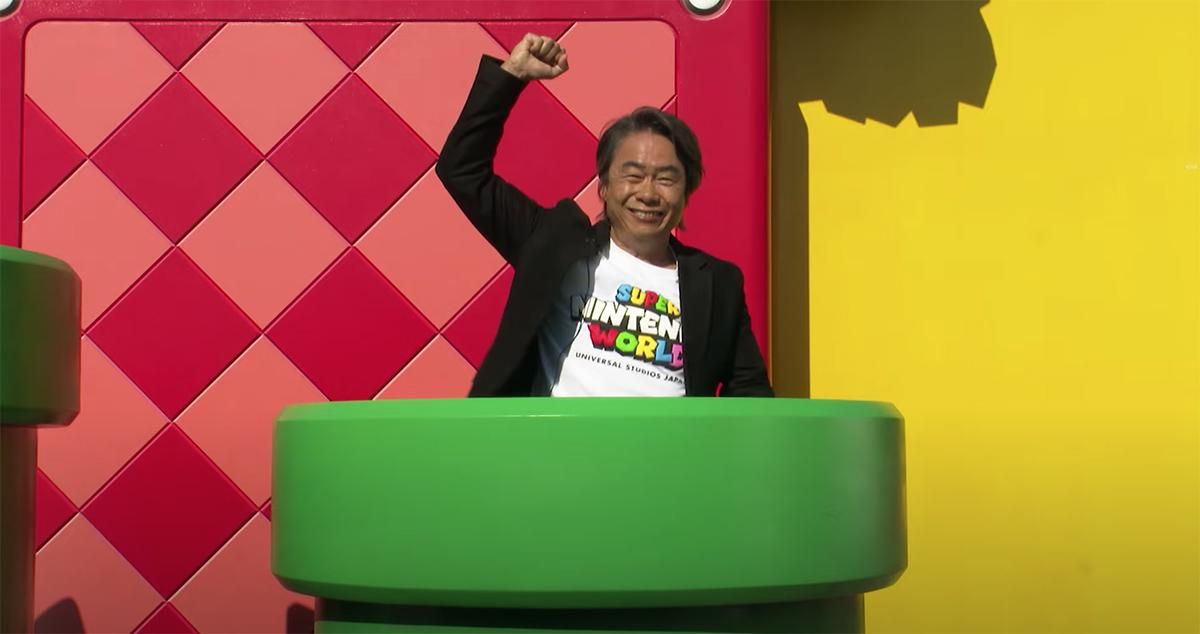 Nintendo gives a video tour of Super Nintendo World theme park