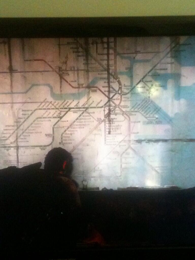 the last of us transit map