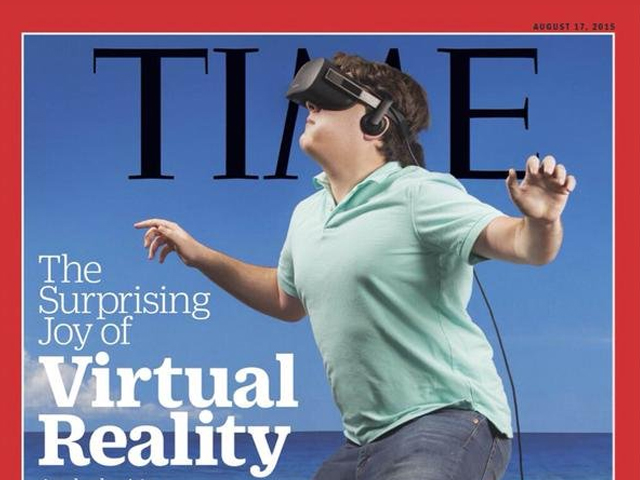Lunch Sketch: Have fun with Time's amazing VR issue cover