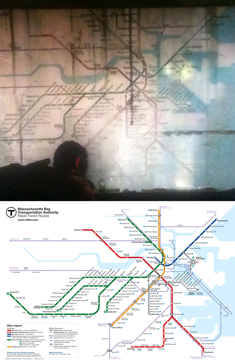 The Last of Us Uses Boston Transit Map Without Permission [UPDATE ...