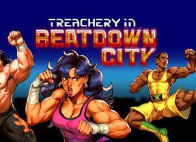 Treachery in Beatdown City review: Mash'em up