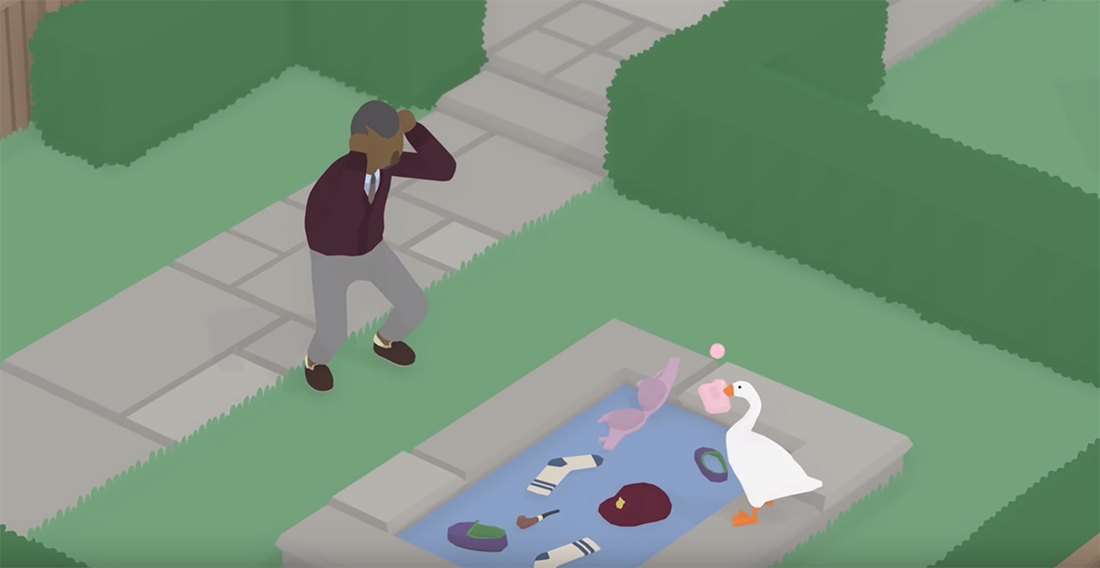 Quirky named Untitled Goose Game gets a delay