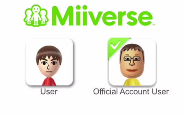Verified Miis in Miiverse