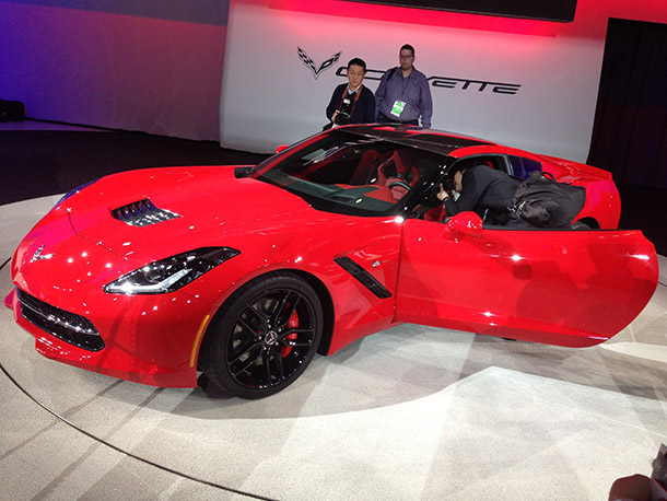 The Corvette in Red